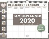 Hobbit familieplanner omslag spiraal weekkalender D2 2020 voor maximaal 5 personen