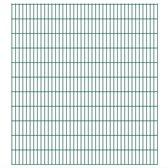 Dubbelstaafmat 2008 x 2230 mm 30 m groen 15 stuks (incl. Werkhandschoenen)