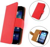 TCC Hoesje Samsung Galaxy Note 4 Book/Wallet Case/Cover Rood