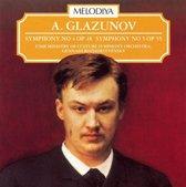 Glazunov: Symphony No. 4, Op. 48; Symphony No. 5, Op. 55