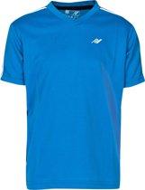 DANO S/SL SHIRT BLUE jr. - Sportshirt - 152 - blauw combi - Kinderen