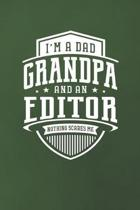 I'm A Dad Grandpa & An Editor Nothing Scares Me