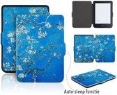 Lunso - sleepcover flip hoes - Kobo Clara HD - Van Gogh amandelboom