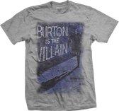 StudioCanal - The Villain heren unisex T-shirt grijs - L