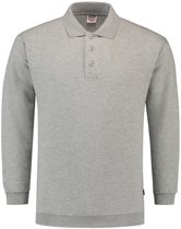 Tricorp polosweater boord - Casual - 301005 - grijs - maat M
