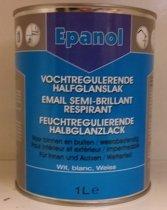 Epanol - Één Pot Systeem - EPS - Vochtregulerende Halfglanslak - Wit of in één van de vele andere kleuren - 1L