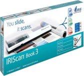 IRIScan Book 3 - Handscanner-5PPM- AA Batterij, draagbare scanner,scan naar SD Card JPG/PDF/MultiPDF, 300/600/1200Dpi, Gratis OCR