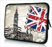 13.3 laptophoes / macbookhoes Big Ben Londen - Sleevy