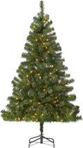 Kunstkerstboom - 210 cm - 800 Takken - Inclusief LED Verlichting