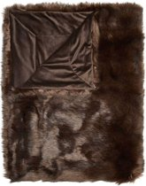 Essenza Levin - Plaid - 150x200 cm - Brown