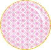 Tokyo Design Studio - Star wave bord 16x2cm roze
