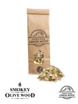 Smokey Olive Wood- Houtsnippers - Citroenhout - 500ml - Chips kleine maat ø 0,5cm-1cm