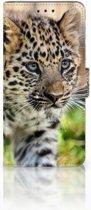 Huawei Mate 20 Pro Uniek Boekhoesje Baby Luipaard
