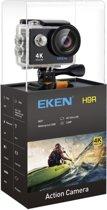EKEN Action Camera H9R 4K Ultra HD | Afstandsbediening | Wifi | 23 accessoires | 12MP | 32GB SD + Extra Accu | Waterproof bag