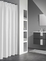 Sealskin Granada - Douchegordijn - 120x200 cm - Wit