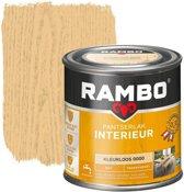 Rambo Pantserlak Interieur Transparant Mat Kleurloos 0000-0,75 Ltr