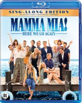 DVD cover van Mamma Mia! Here We Go Again (Blu-ray)