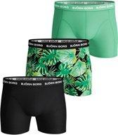 Bjorn Borg Onderbroek - Maat XL  - Mannen - groen/zwart