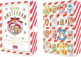 Blond Amsterdam Kerstkaarten - box met 16 stuks met enveloppen
