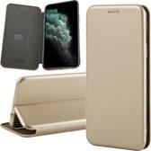 iPhone 11 Pro Hoesje - Book Case Flip Wallet - iCall - Goud