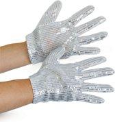 Glitter handschoenen - kindermaat - verkleed handschoen