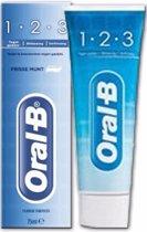 Oral-B Tandpasta - 1-2-3 Fresh Mint 75ml