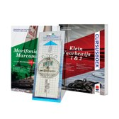 Cursusboek Klein Vaarbewijs 1 & 2 Met Cursusboek Marifonie & Marcom B en Portland Plotter