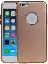 Wicked Narwal | Design backcover hoes voor iPhone 6 / 6s Goud