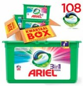 Ariel 3in1 Pods Colour & Style wasmiddel capsules- 108 stuks