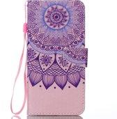 Mobigear Wallet Case Zonnebloem Totem Pattern Samsung Galaxy J6 2018