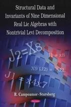 Invariants of Nine Dimensional Real Lie Algebras with Nontrivial Levi Decomposition