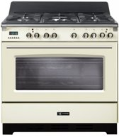 M-System MFC-95 OW Vrijstaand Gas hob A Wit fornuis