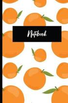 Notebook: Citrus Fruit Themed Notebook - Fresh Oranges - Cute Booklet for Writing Down Notes and Ideas - Use as a Journal or Dia