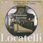 Locatelli : Chamber Music For Flute And Violin Son
