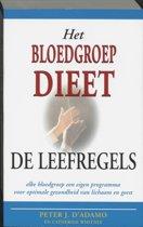 Het bloedgroepdieet / De leefregels