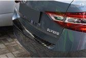 Avisa Zwart RVS Achterbumperprotector Skoda Superb III Combi 2015- 'Ribs'