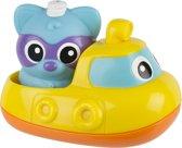 Badspeeltje muzikale onderzeebootje met wasbeer