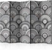 Vouwscherm - Mandalas 225x172cm