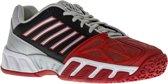 K-Swiss Bigshot Light 3 Omni  Tennisschoenen - Maat 33.5 - Unisex - rood/zwart/zilver