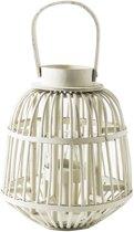 Riviera Maison Costa Lantern Windlicht - 31 Cm - Wit