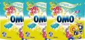 OMO Wascapsules Festival Fruit - 96 (3 x 32) wasbeurten - voordeelverpakking -