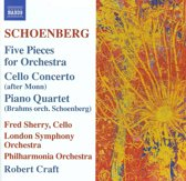 Schoenberg: Five Pieces For Or