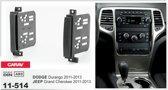 2-DIN JEEP Grand Cherokee 2011-2013 / DODGE Durango 2011-2013 inbouwpaneel Audiovolt 11-514