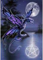 Anne Stokes Verjaardagskaart Dragonfly
