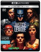 DVD cover van Justice League (4K Ultra HD Blu-ray)