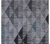 Laagpolig Vloerkleed Enjoy 160x230 cm - Grijs / Blauw