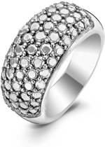 TI SENTO Milano Ring 1546SD - Maat 56 (17,75 mm) - Gerhodineerd Sterling Zilver