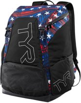 TYR Alliance 45L Backpack / Rugzak – Donkerblauw/Rood