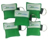 Kiss of life key groen 5x