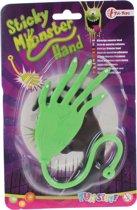 Toi-toys Kleverige Monster Plakhand 10 Cm Groen